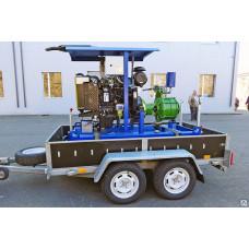 Дизельный насос для чистой воды ДНА 70/21.Д.YD380D.10/1500