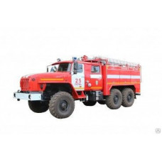 Автоцистерна пожарная АЦ 4,0-60 Урал-5557