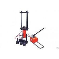 Выпрессовщик пальцев и втулок гусеничных цепей ВПТЦ100