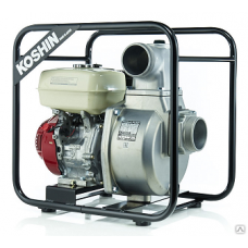 Бензиновая мотопомпа для загрязненной воды SEH-100X