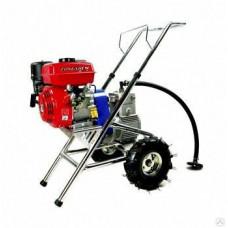 Безвоздушная бензиновая окрасочная установка SPX500