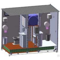 Туалетный модуль «Городской стандарт 202», автономный