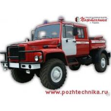 Автоцистерна пожарная АЦ 1,6-40 ГАЗ-33081