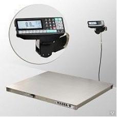 Весы платформенные 4D-P.S-3-1000-RP с печатью этикеток
