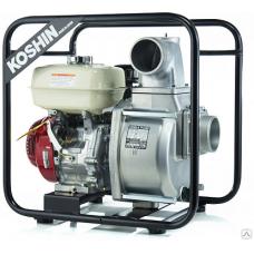 Бензиновая мотопомпа для средне-загрязненной воды STH-100X