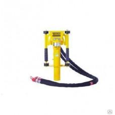 Инструмент для забивания стержней с ручным рычагом