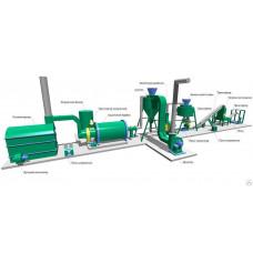 Линии оборудования для производства пеллет ПЛГ 1000 1000 кг/час