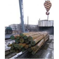 Деревянные пропитанные опоры столбы лэп 6.5 м, приставки, ж/б опоры