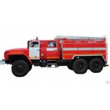 Автоцистерна пожарная АЦ 6,0-40 Урал-4320С