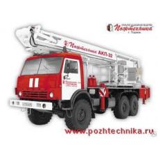 Автоподъемник коленчатый пожарный АКП-32 КамАЗ-43118