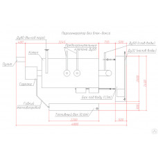 Газовый парогенератор ПГ-1000 производительность пара 1000 кг/ч