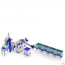 Асфальтобетонный завод DHB-60 барабанного типа 60 т/ч