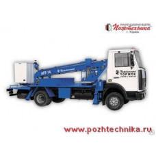 Автоподъемник АПТ-14 МАЗ-437041