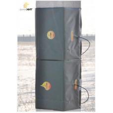 Термомат цельный для прогрева бетонных колонн, кв.м