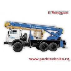 Автоподъемник АПТ-28 КамАЗ-43114