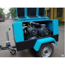 Компрессор передвижной электрический DLDY-2.7/13RA(SKK82LM)