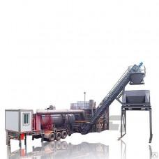 Асфальтобетонный завод мобильный на колёсах MDHB-100 100 т/ч