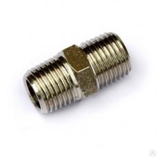 Соединитель шланга 1/4''x1/4'' npsm (аналог 300203) 07051002
