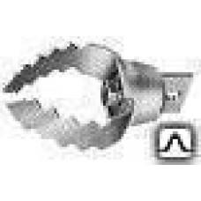 Насадка U-образный зубчаты скребок-резак 100мм 4UC