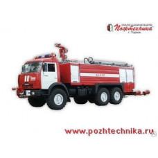 Аэродромный пожарный автомобиль АA-8/60 КамАЗ-43118