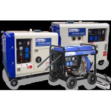 Дизельный сварочный генератор TSS DGW-300E открытый