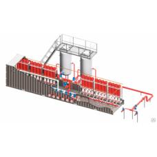 Установка пожаротушения УГПП с раздельным хранением