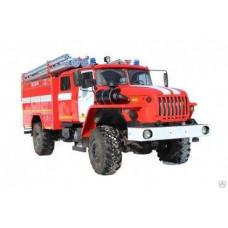 Автоцистерна пожарная АЦ 3,0-40 Урал-43206