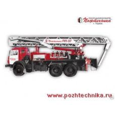 Пеноподъемник пожарный ППП-37 КамАЗ-43118