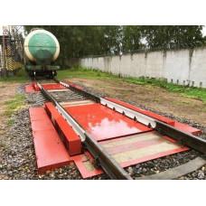 Железнодорожные весы ВС-В-1000 динамические