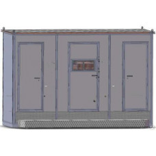 Туалетный модуль «Городской стандарт 302», автономный