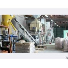 Линия производства топливных гранул. Пеллетная линия MPL300 350 кг/ч