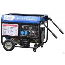Бензиновый сварочный генератор TSS GGW 4.5/200E-R открытый