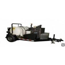 Канало-промывочная машина STB4007H на прицепе
