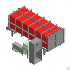 Вакуумная сушилка для древесины ПВСК -8 контейнерного типа
