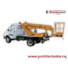 Автоподъемник АПТ-12 ГАЗ-3302