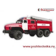 Автомобиль воздушно-пенного тушения АВ-40 Урал-5557