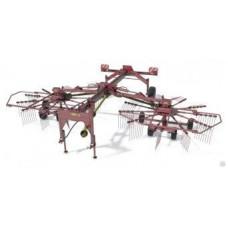 Грабли двухроторные прицепные Kolibri Duo 810