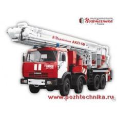 Автоподъемник коленчатый пожарный АКП-50 КамАЗ-6540