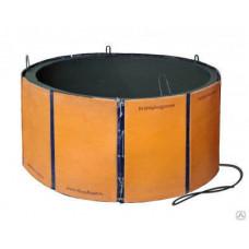 Термомат для ускорения твердения бетонных колец, комплект