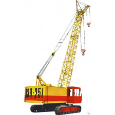 Гусеничный кран ДЭК-251