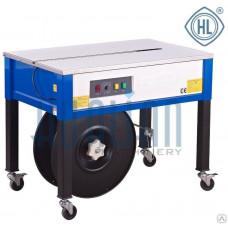Полуавтоматическая напольная стреппинг-машина HL-8022 (открытый стол)