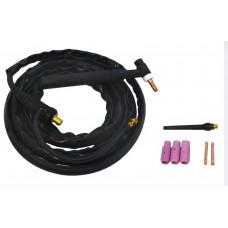 Горелка для аргонодуговой сварки вентильная WP-26 (4м)