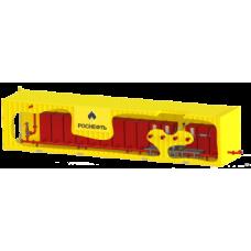 Установка из модулей МГПП-110 «BiZone» с размещением в контейнере 40