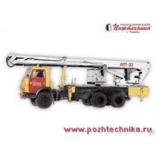 Автоподъемник АПТ-32 КамАЗ-53215