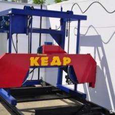 Пилорама ленточная электрическая Кедр-2М с усиленным рельсовым путем