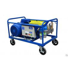 Аппарат высокого давления воды Посейдон 600-1500 бар (на тележке)