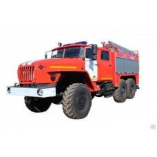 Автоцистерна пожарная АЦ 4,0-40 Урал-5557К