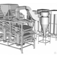 Зерноочистительная машина ЗМ-15