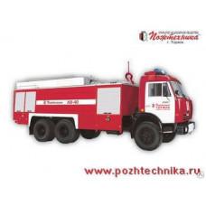 Автомобиль воздушно-пенного тушения АВ-40 КамАЗ-53215
