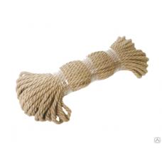 Веревка джутовая Magnus-Profi, 10 мм, 50 м